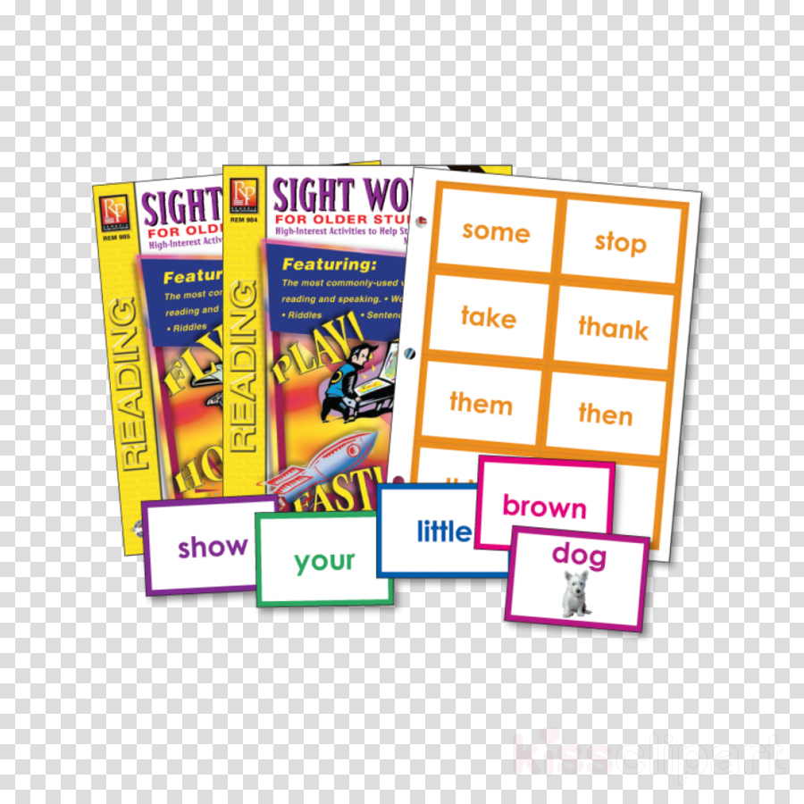 remedia publications sight words for older students book clipart Sight Words for Older Students Dolch word list