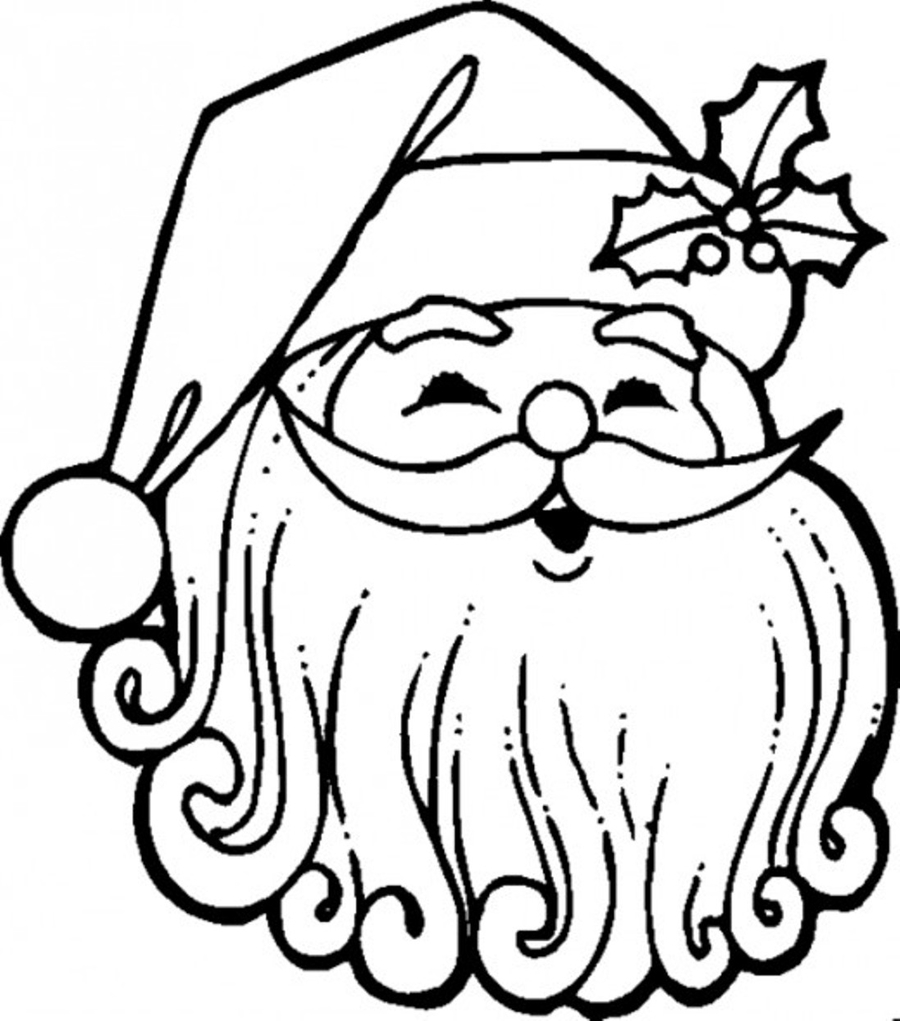 download free printable christmas countdown clipart santa claus christmas coloring pages coloring book