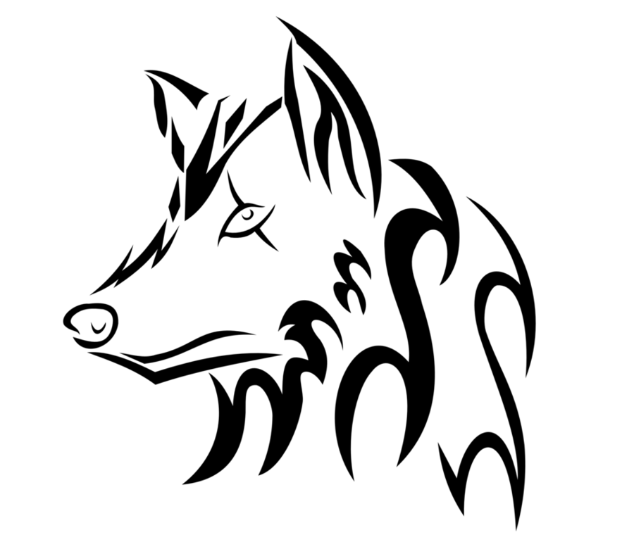 Wolf Logo Clipart Drawing Wolf Sketch Transparent Clip Art