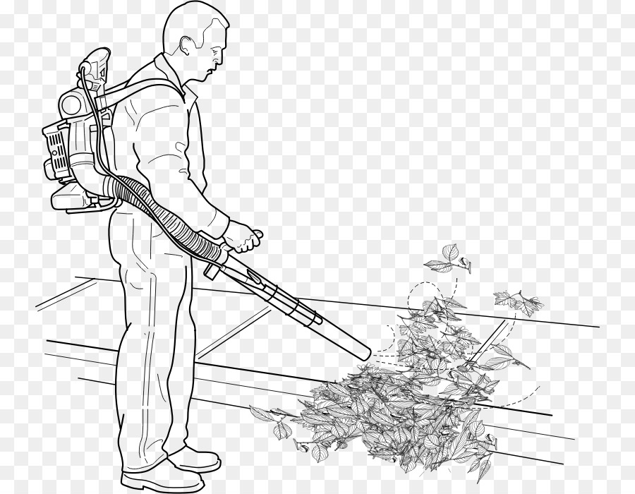 leaf blower coloring page clipart leaf blowers centrifugal fan tool