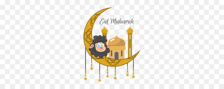 Cartoon Eid Mubarak