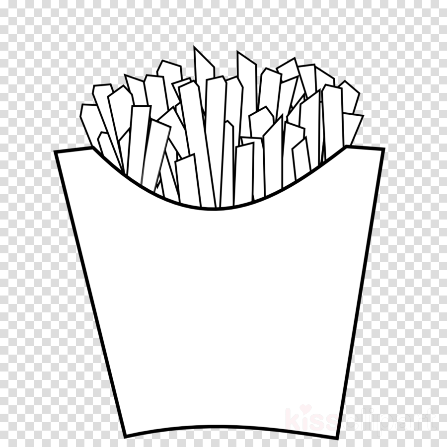 Download French Fries Coloring Pages Clipart Mcdonald S French Fries