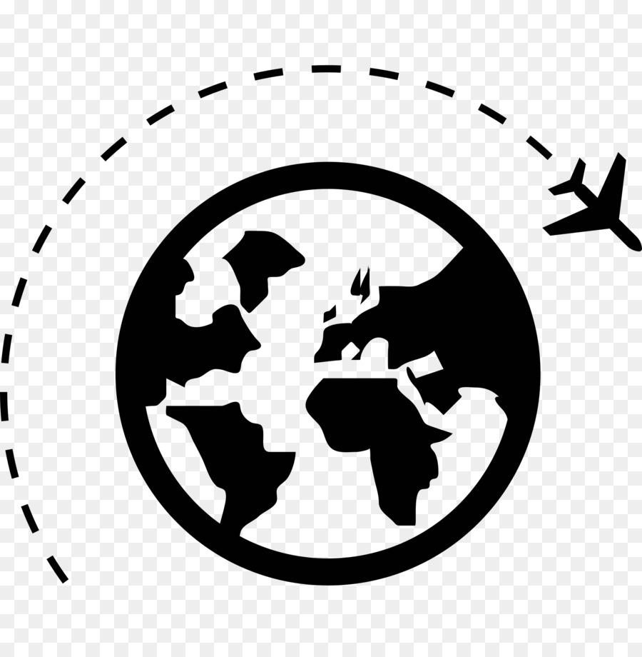 Black Line Background Clipart Travel White Black Transparent Clip Art
