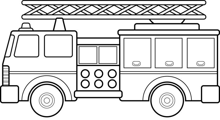 Download coloring fire truck clipart Colouring Pages Fire engine ...