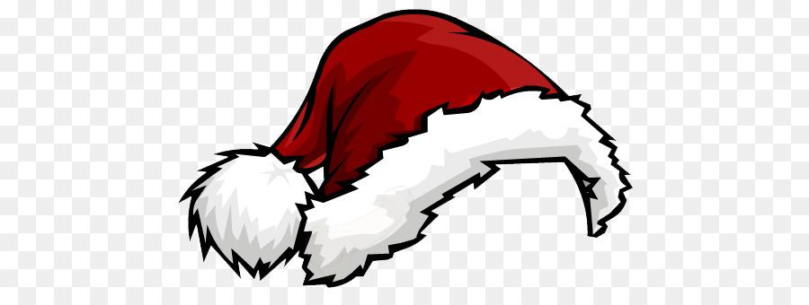 Cartoon Christmas Hat clipart , Hat, Cartoon, Red