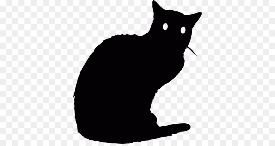 Animal clipart Bombay cat Black cat Manx cat
