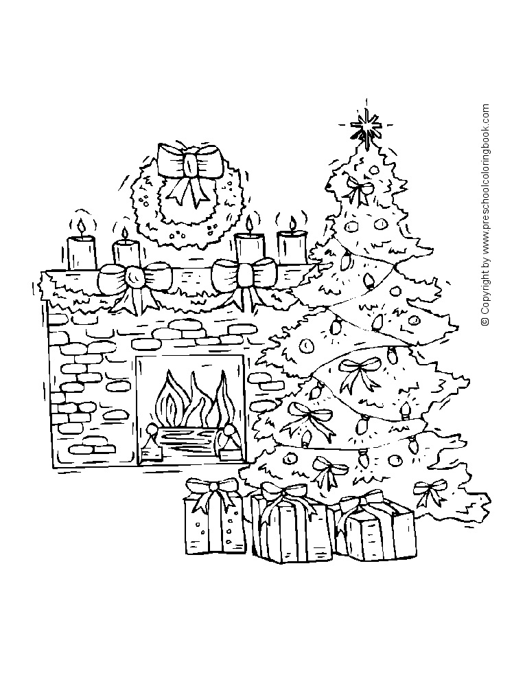 christmas coloring pages fireplace clipart christmas coloring pages animals colouring coloring book