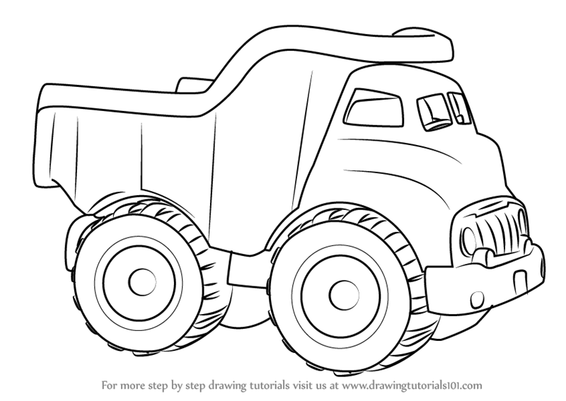 Car Truck Drawing Transparent Png Image Clipart Free Download