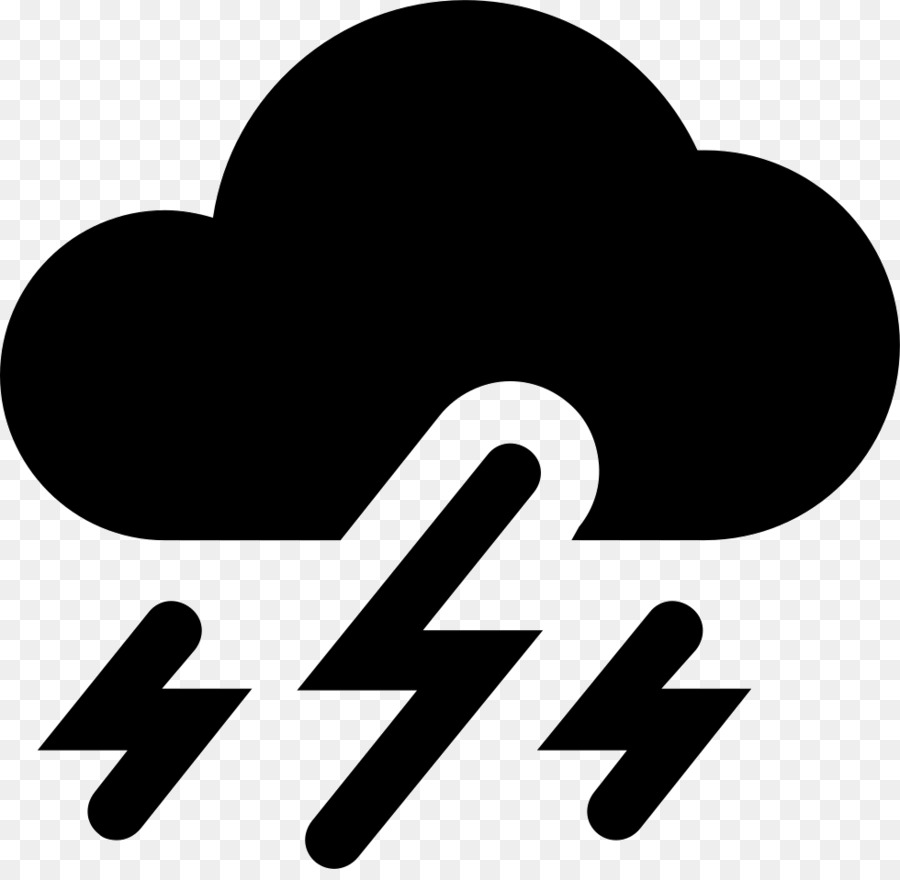 Thunderstorm Symbol Clipart All About Clipart