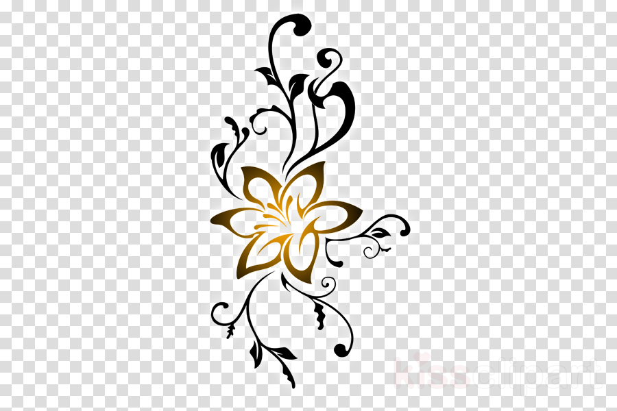 Tattoo Art Flower Transparent Png Image Clipart Free Download