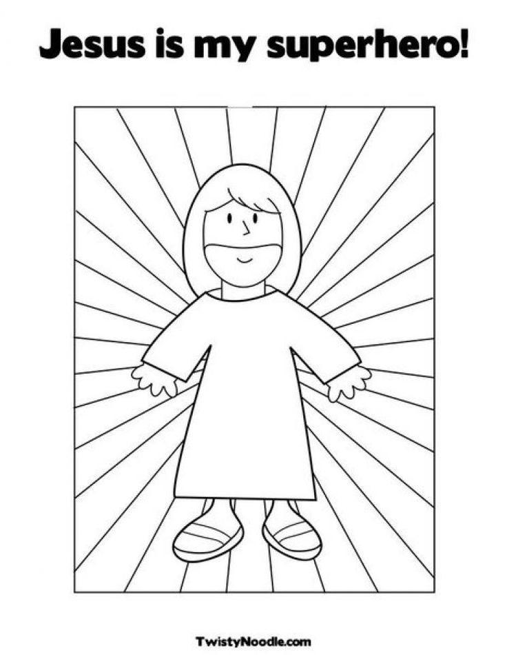 Download jesus is the light of the world coloring page ...