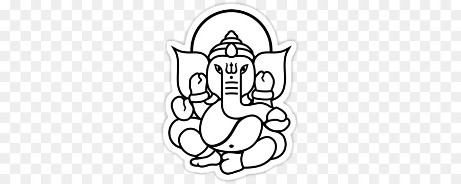 Ganesha Line Drawing