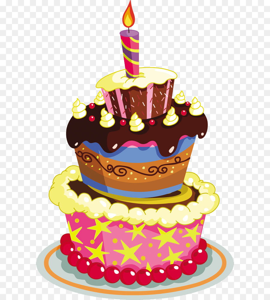 Cupcake, Birthday, Cake, transparent png image & clipart free download