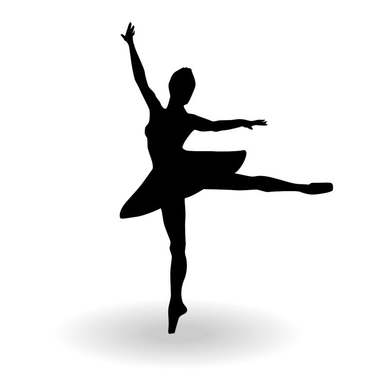 Fitness Cartoon Clipart Dance Silhouette Drawing Transparent Clip Art