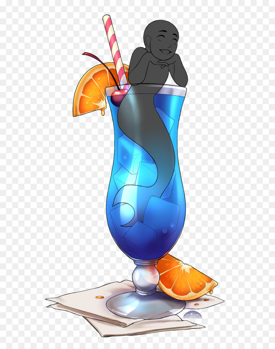blue hawaii clipart Cocktail garnish Artist Non-alcoholic drink