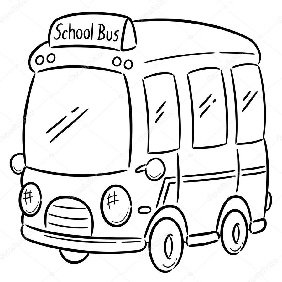 download school bus clipart school bus coloring book | bus, school