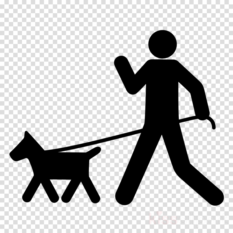 Dog walking. Download the academy clipart
