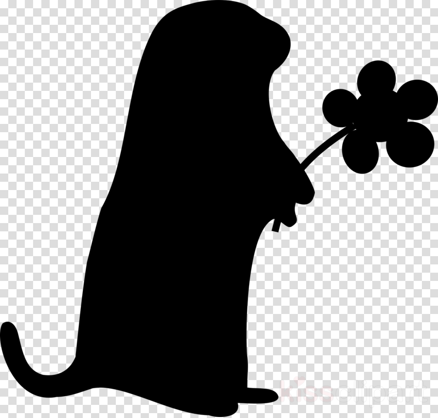 black and white groundhogs clipart Groundhog Squirrel Clip art