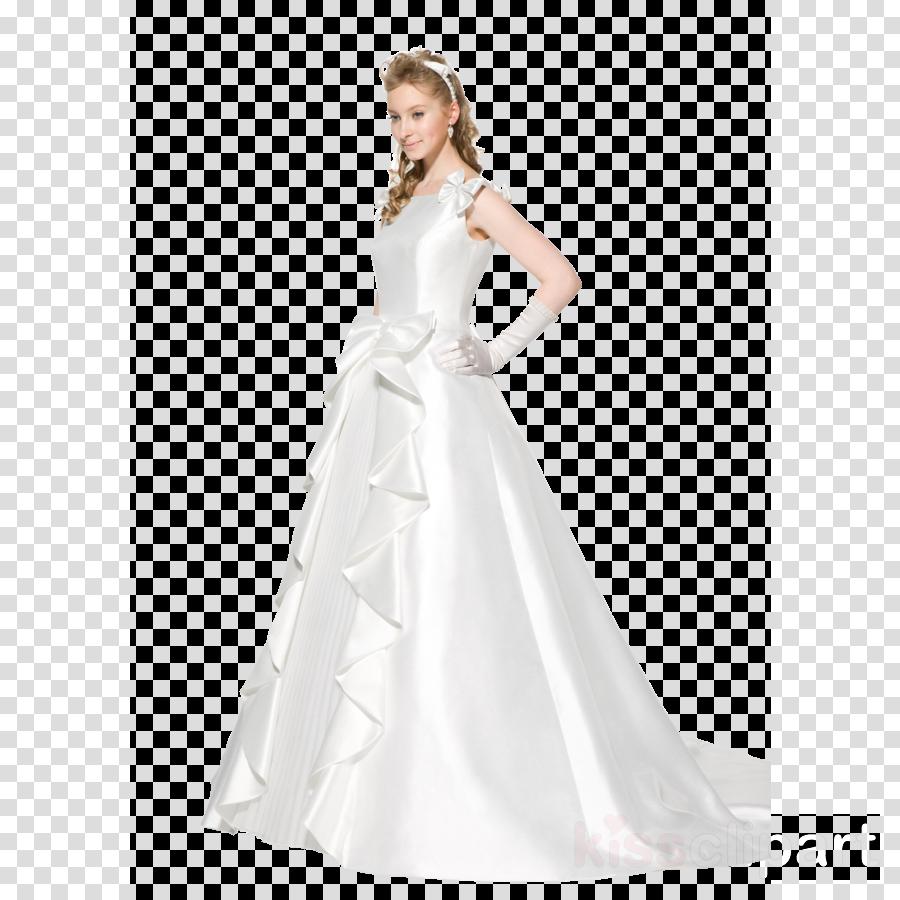 Wedding dress clipart Wedding dress Bride