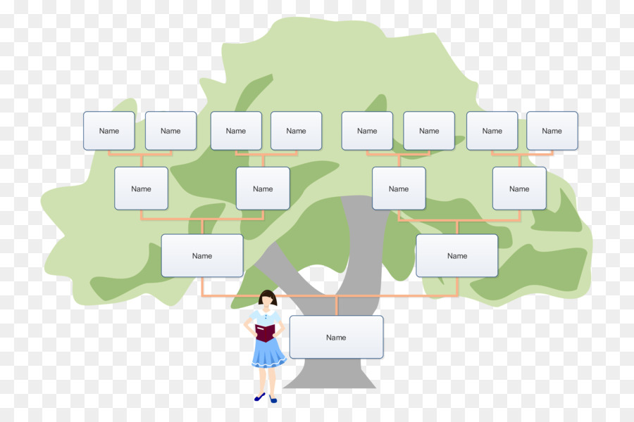 Download Family Tree Example Clipart Family Tree Template Genealogy