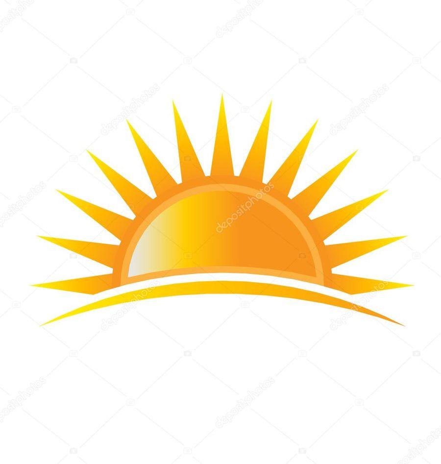 Download Rising Sun Logo Clipart Logo Royalty Free Illustration