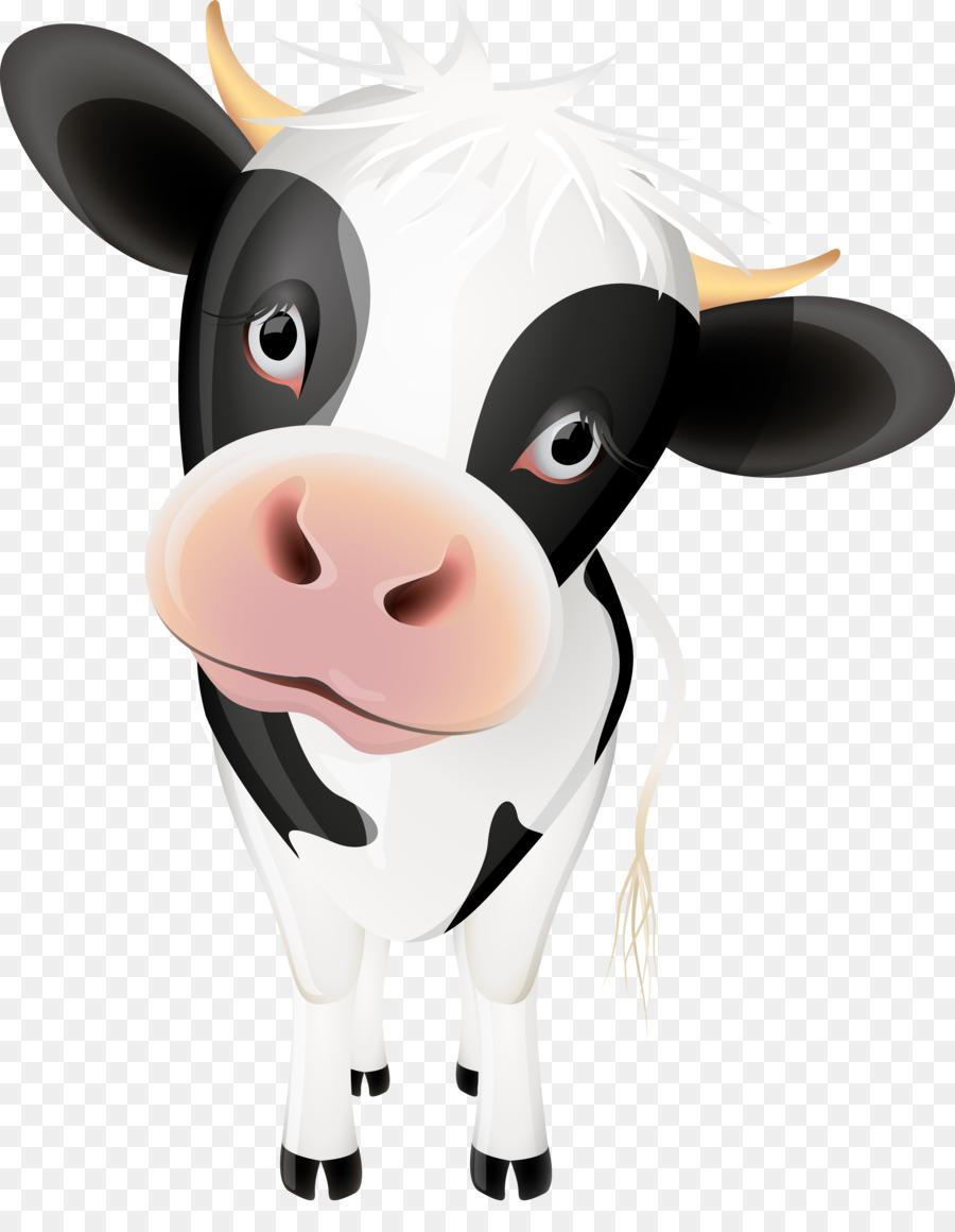 cow cartoon vector clipart Cattle Clip art