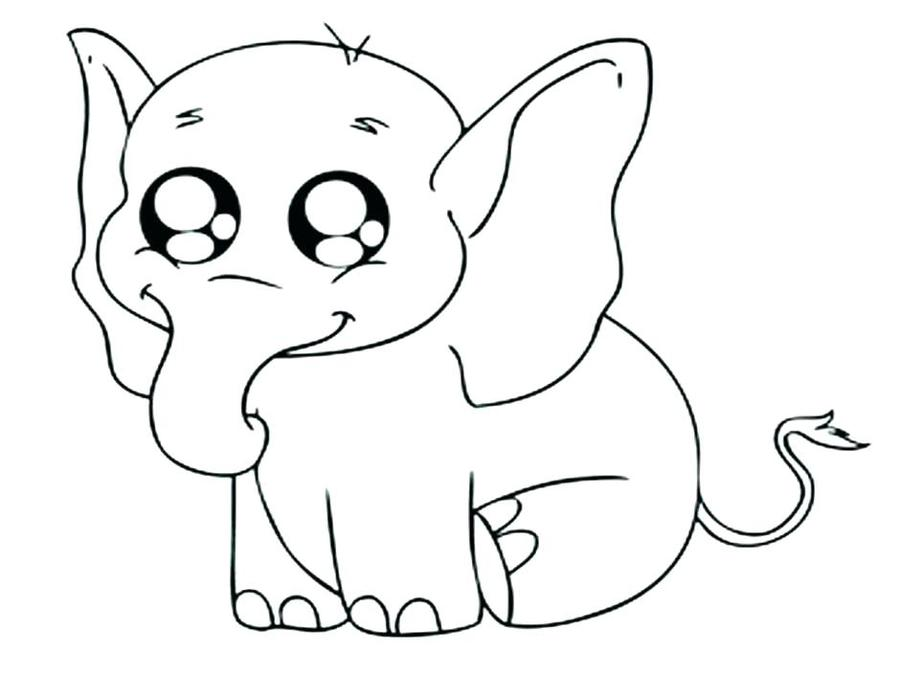 Download Elephant Coloring Page Clipart Book Elephants And Piggie