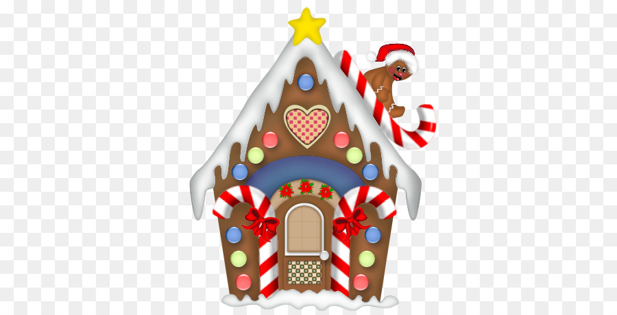 gingerbread house png clipart Gingerbread house Candy cane Clip art