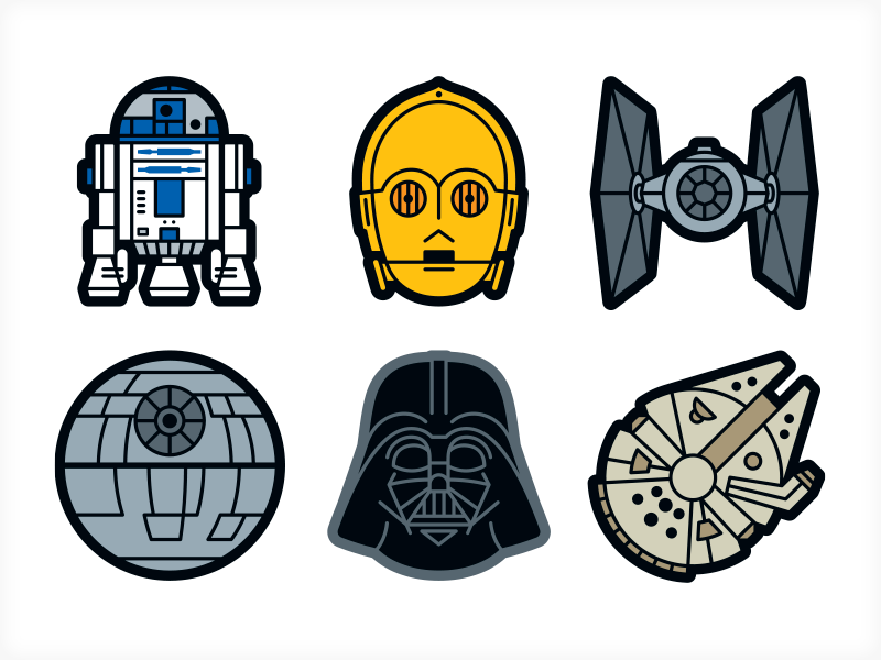 star wars stickers clipart Anakin Skywalker Star Wars X-wing Starfighter