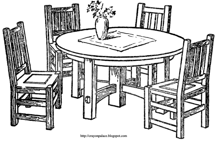House Cartoon Clipart Sketch Table House Transparent Clip Art
