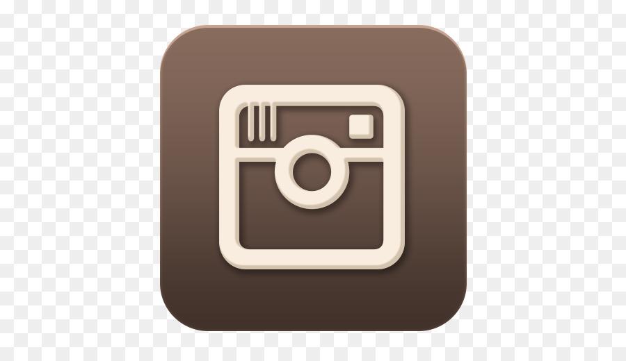 Facebook brown. Social media icon clipart