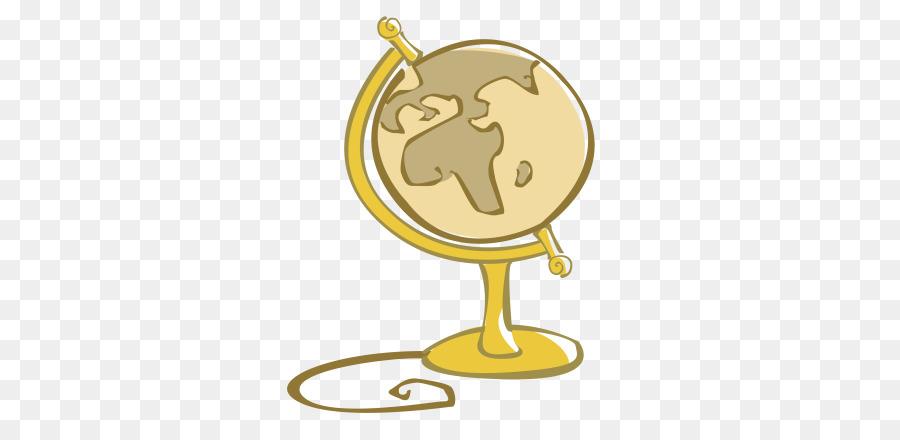 Globe Cartoon