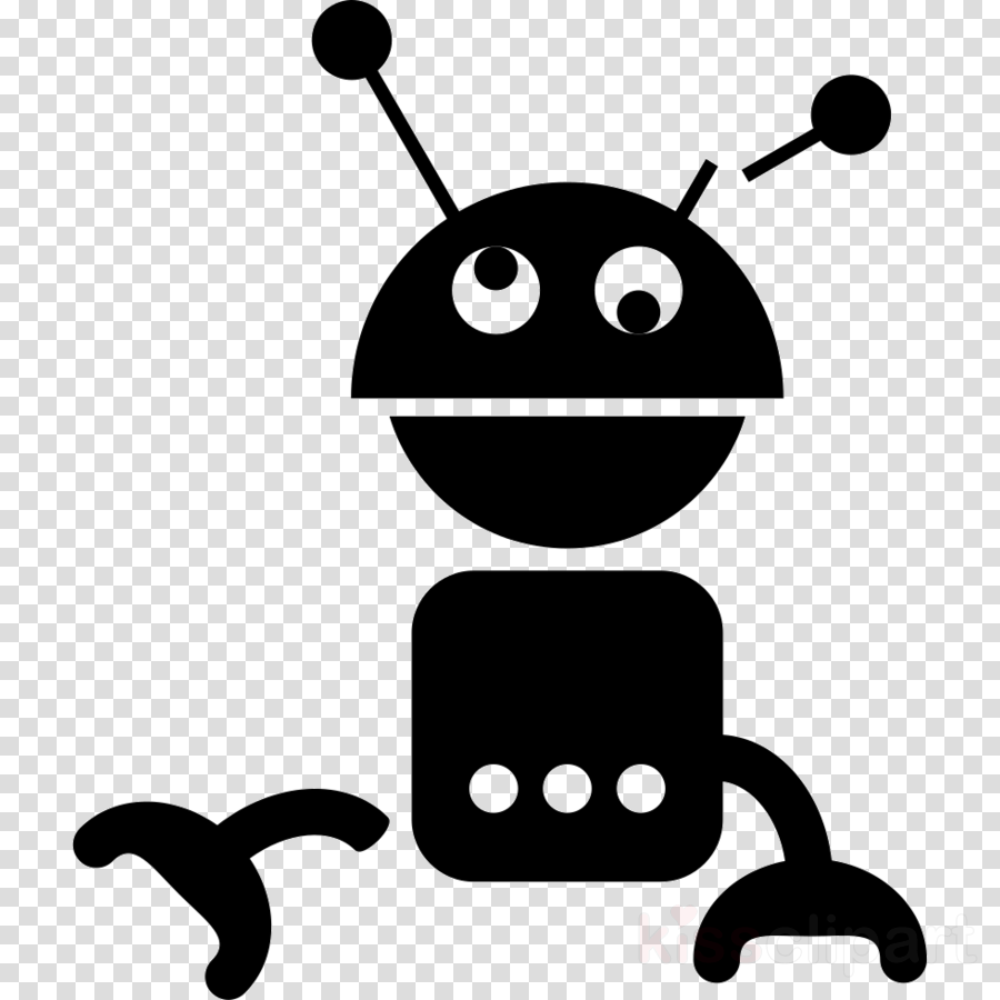 Robot Line Font Graphics Png Clipart Free Download