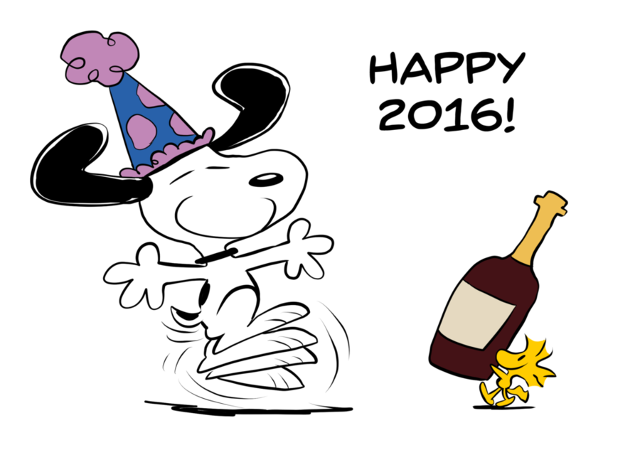 clipart resolution 1024720 happy new year snoopy clipart snoopy woodstock new year