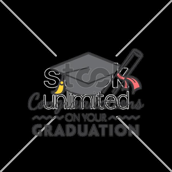Graduation Cartoon clipart - Font, Sticker, School