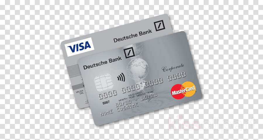 carta di credito deutsche bank clipart Credit card Visa