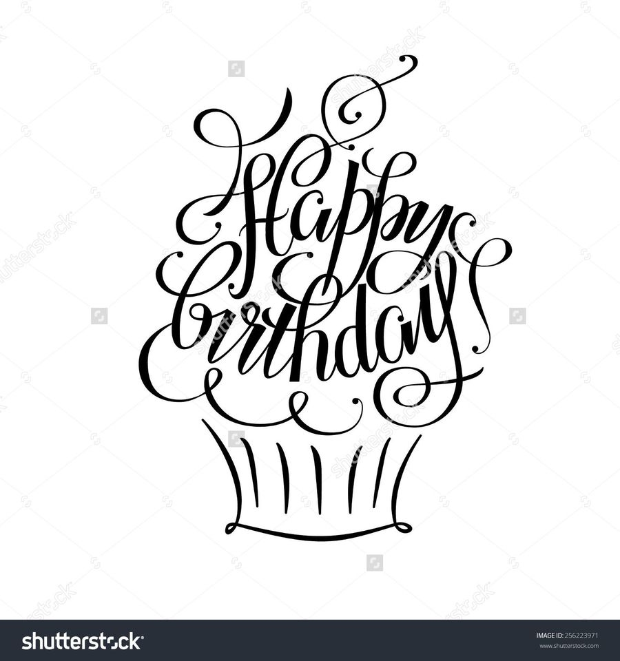 Download Happy Birthday Drawing Clipart Drawing Birthday Greeting