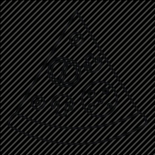 Pizza Illustration Text Transparent Image Clipart Free Download
