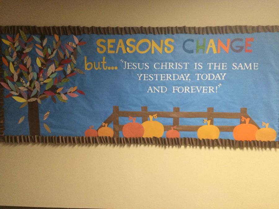 school autumn information classroom student idea text banner
