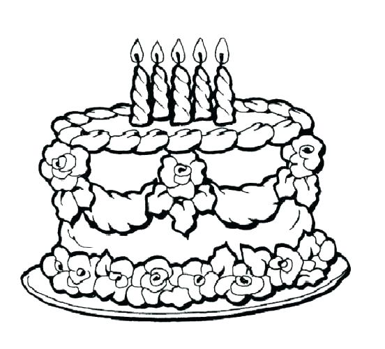 Download printable cake clipart Cupcake Birthday cake Coloring book ...
