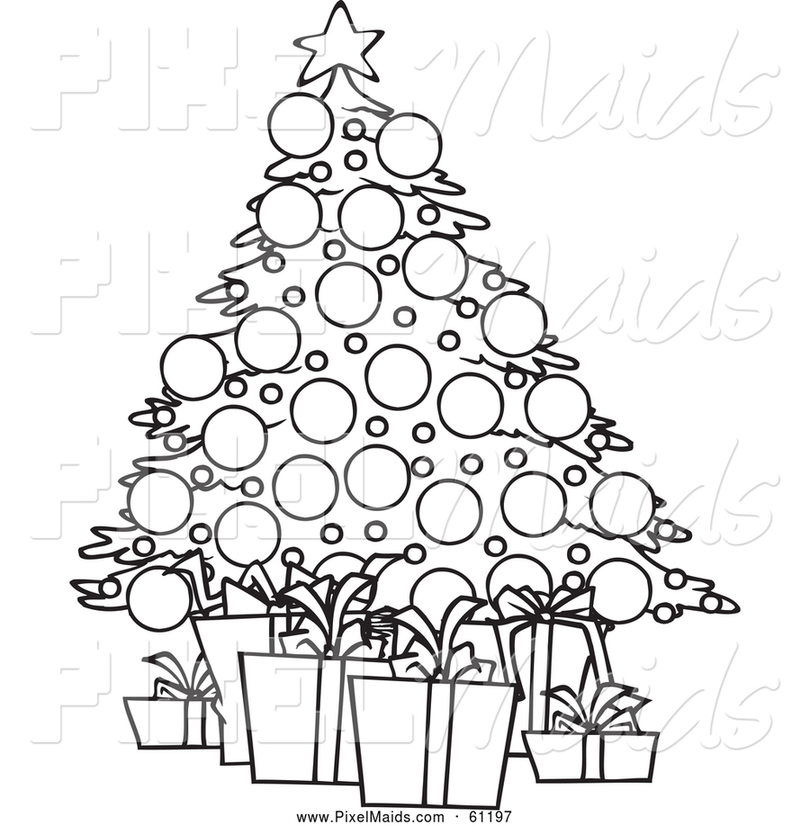 download christmas black and white clipart christmas day christmas tree clip art - Christmas Black And White Clipart