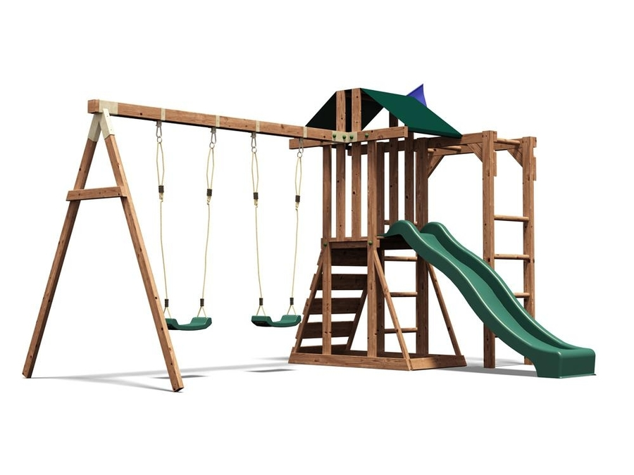 Download climbing frame - manorfort stronghold w4.4m x d3.9m clipart ...