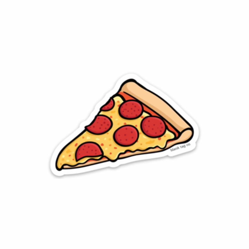 Pepperoni Pizza Clipart Pizza Sticker Cheese Transparent Clip Art