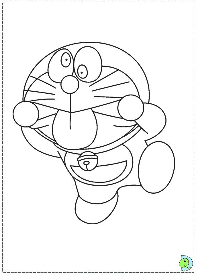 491040 Buku Mewarnai Doraemon Moshi Cute