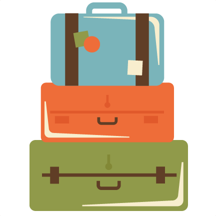Travel Suitcase Clipart Suitcase Travel Green Transparent Clip Art