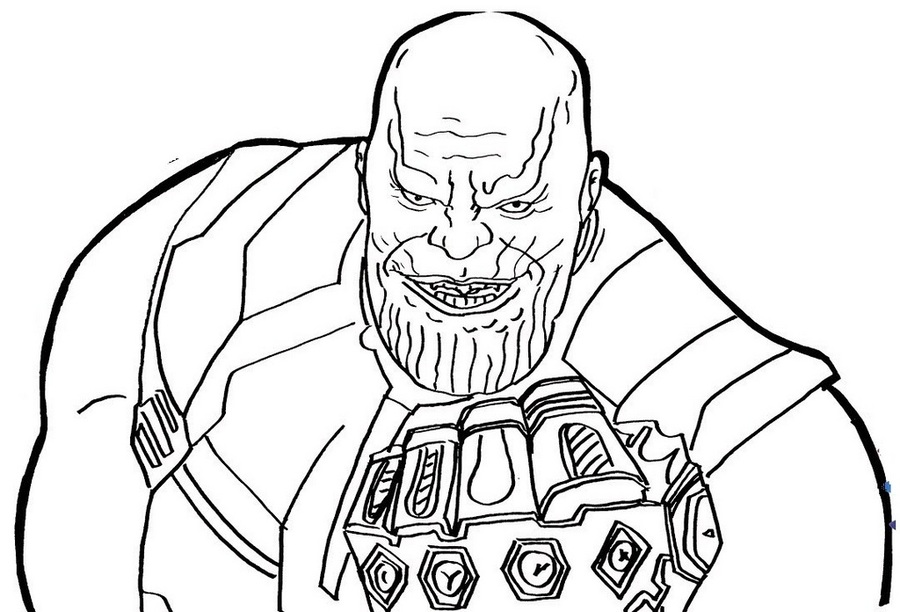 Avengers Infinity War Iron Man Coloring Pages Best Image Of