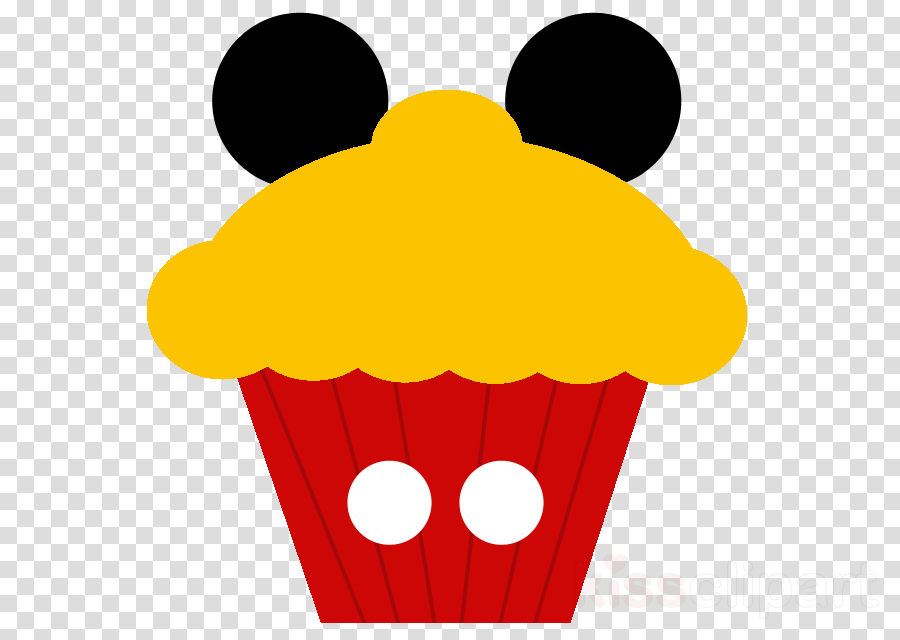 disney cupcake clipart Mickey Mouse Cupcake Minnie Mouse