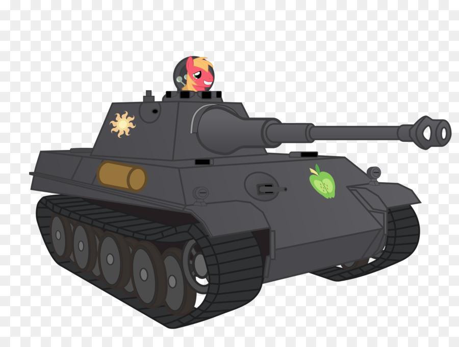 Blog clipart Pony Churchill tank