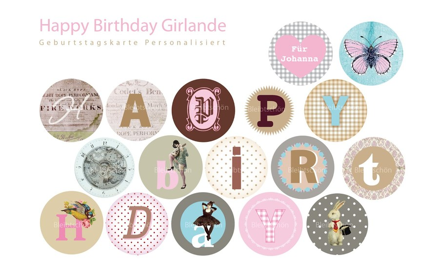 Happy birthday ausdrucken