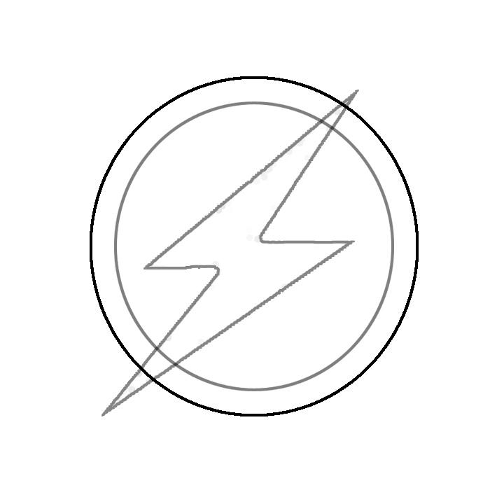 clipart resolution 700 700 superhero logo template clipart flash